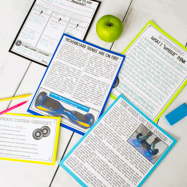 Hoverboard- Paired Texts To Improve Students' Writing
