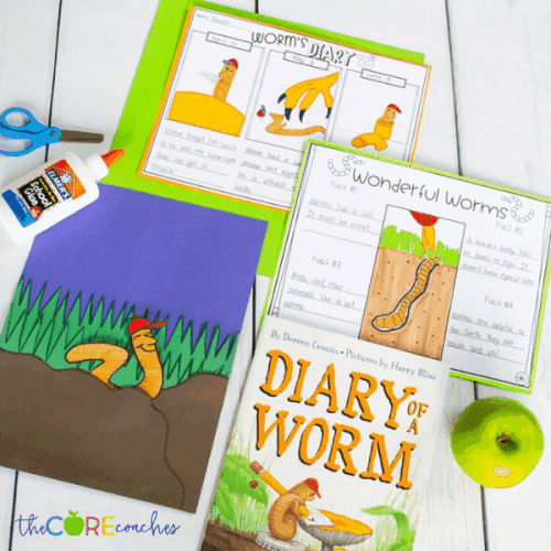 diary of a worm activity