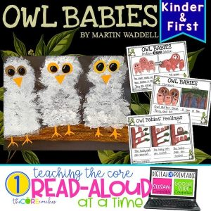 Owl Babies: Interactive Read Aloud Lesson Plans And Activities