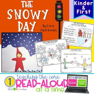 The Snowy Day: Interactive Read-Aloud Lesson Plans And Activities K-1