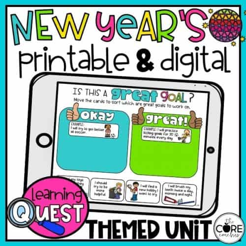 New Year's Resolution Activities For Elementary Students