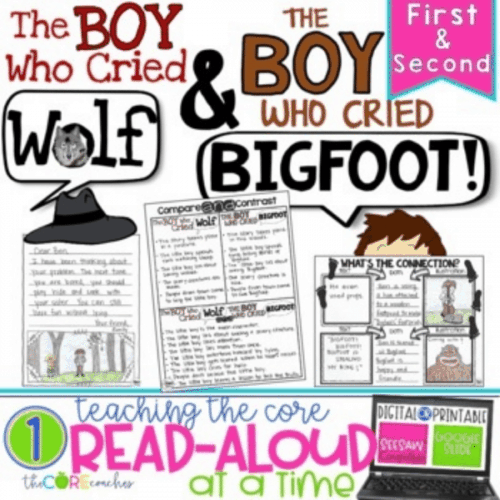 The Boy Who Cried Wolf Read Aloud